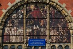 Hans Memling - Sąd ostateczny - budynek dworca PKP Gdańsk Główny