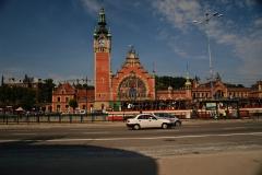 Budynek dworca PKP Gdańsk Główny